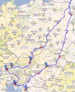 marsrut po evrope 245x300 По европе на авто