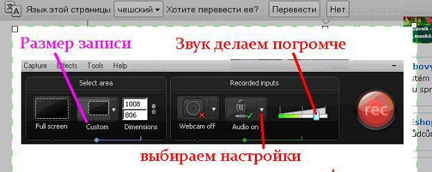 nastroika camtasia2 Как настроить Camtasia Studio для записи вебинара