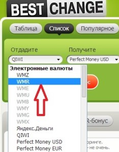 obmennik2 234x300 Меняем электронную валюту или Онлайн обменник